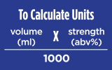 Calculate Alcoholic Units